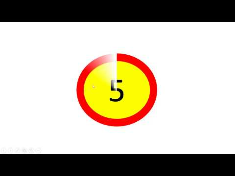 How to Create countdown timer animation in PowerPoint