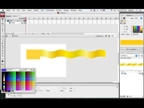 Create a Waving Flag Animation in Flash