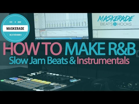 How to Make R&B / Slow Jam / Love Song Instrumental Beats | Ableton Live