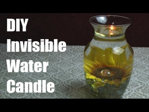 Invisible Water Candle
