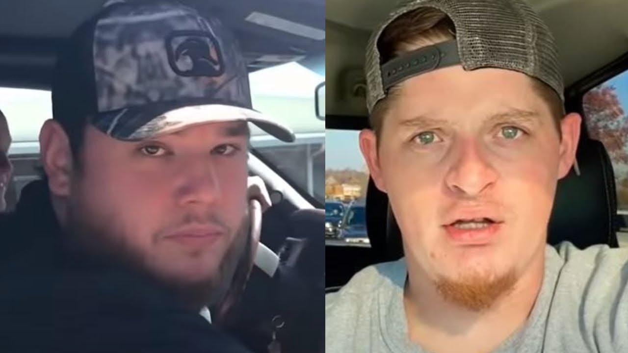 Upchurch Calls Out Luke Combs At Music Video Shoot