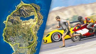 How Long Does it Take to Drive Around the San Andreas State?