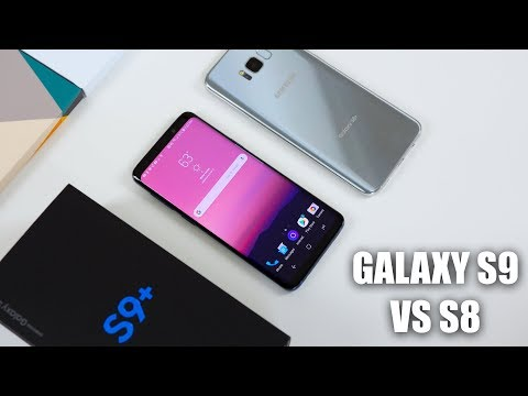 Samsung Galaxy S9 vs Galaxy S8 Full Comparison with Camera Test