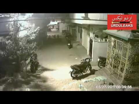 Kid flights street dogs at Kukatpally Hyderabad city in India