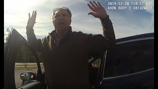 Caught on bodycam: FBI agent chasing Florida corruption complaint ends up locked in patrol car