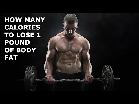 How Many Calories to Lose 1 Pound of Body Fat?