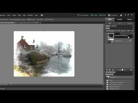 Basic Layer Blending with Photoshop Elements