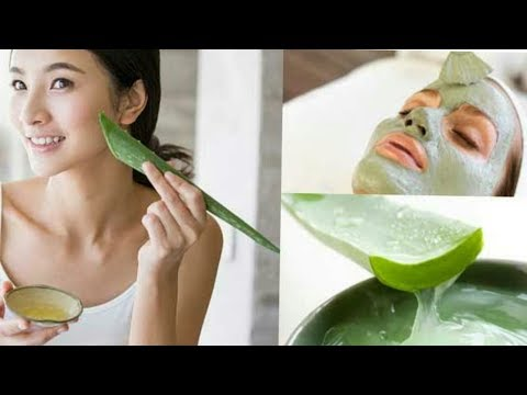 How to Do Aloe Vera Facial At Home For Clear And Glowing Skin ||  करे एलोवेरा फेशियल