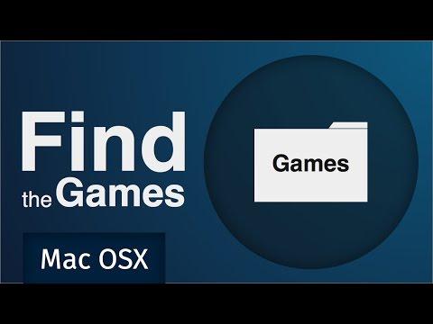 Steam - Game folder location (Mac OSX)