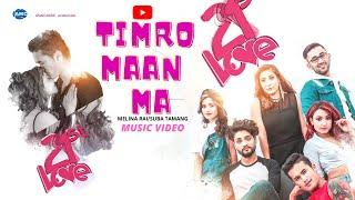 Timro Man Ma - 21st LOVE  Ft. The Cartoonz Crew (New Love Song) | Melina Rai | Subha Tamang