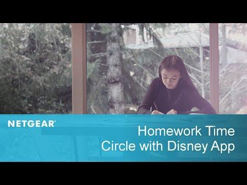 Homework Time   Circle with Disney
