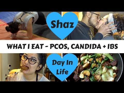 WHAT I EAT | Candida, PCOS + IBS | SKYFIT WORKOUT + Day In The Life