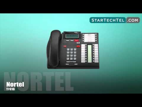 How To Change The Name On The Extension On The Nortel T7316 Phone