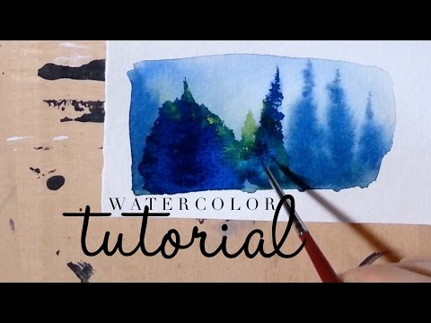 How to use Watercolor: Recovering a mistake (Blooms & Runbacks)