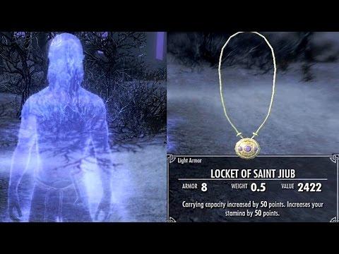 Skyrim DAWNGUARD: ALL 10 JIUB OPUS PAGES Reward (Locket Of Saint Jiub)