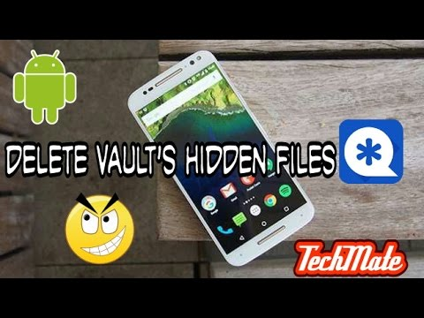 [Hindi] How to Delete Hidden Vault's Pics & Video Without Password [No Root] | TechMate