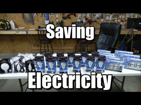 Will L.E.D and CFL lights really save on electric?