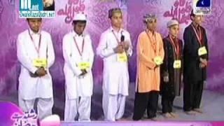 Owais Raza Qadri - Wah Wah Subhan Allah -Naat Khawan Audition - Geo Tv  Complete Program  Part 1