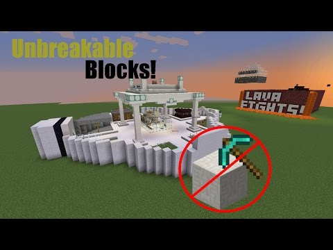 How to make an area of blocks unbreakable (Building a MC Server #1)