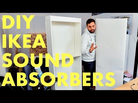 How To Build Acoustic Sound Absorbers - just 30$ DIY IKEA Hack