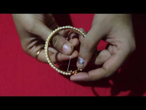 How to make beads bangles making in Marathi