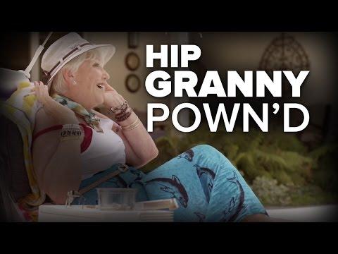 Hip Grandma Schools Grandson