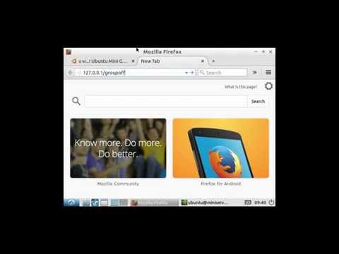 Install Groupoffice 6 Mail-Server (Ubuntu 14.04 mini gui)