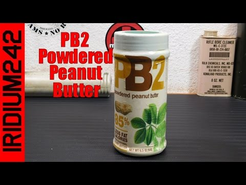 Survival Food: PB2 Powdered Peanut Butter
