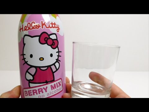 Hello Kitty Berry Mix Party Drink Fruit Champagne