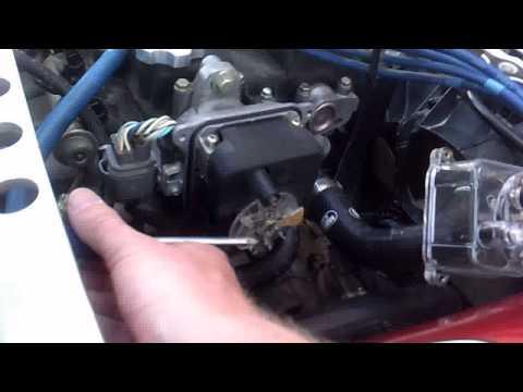 1998 Integra LS 1.8L Distributor Cap & Rotor Install