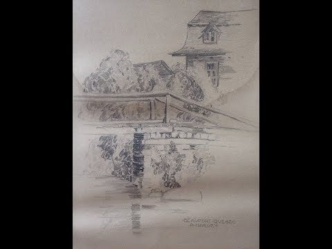 Goodwill rare antique drawing artwork find