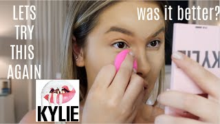 I tried KYLIE COSMETICS.... again (shocking results)