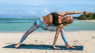 Download Ultimate Yoga Workout ♥ Astanga Inspired Intermediate Class| Maldives
