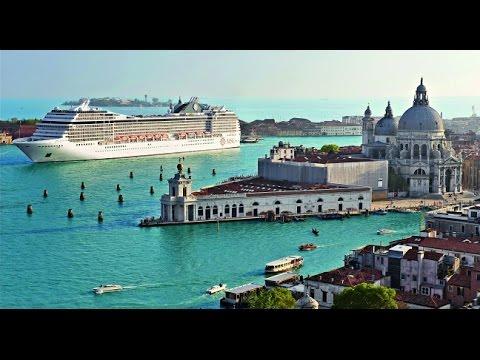 MSC MUSICA cruise ship in Venice Italy