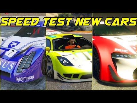 TOP SPEED TEST 3 NEW SUPER CARS! ANNIS RE-7B - PROGEN TYRUS-EMPEROR ETR1👍GTA 5 ONLINE CUNNING STUNTS