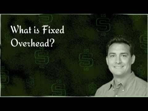 What is Fixed Overhead?