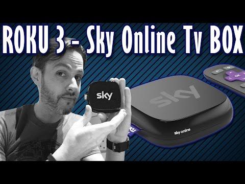 SKY ONLINE TV BOX con ROKU 3, TUTTO quello che devi SAPERE