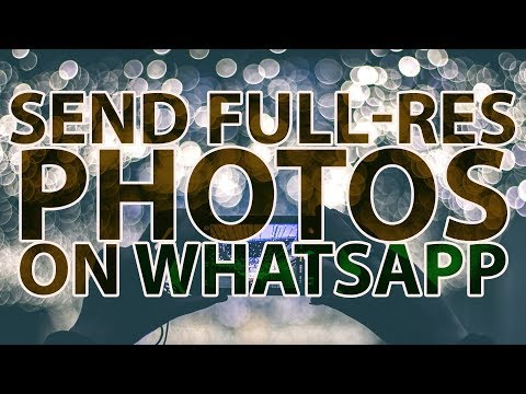 How to Send High-Resolution Photos on WhatsApp