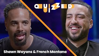 French Montana Gets QUIZZED by Shawn Wayans on 'White Chicks'   Quizzed