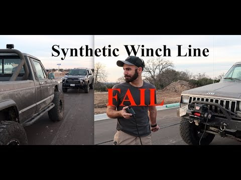 Synthetic Winch Line Install - A Relatable Story Of My Wrenching Life Episode - S2E44
