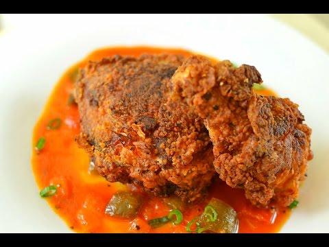 Spicy Jamaican Fried Chicken - Jamaican gravy