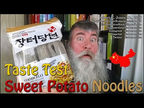 Taste Test - ASIAN STYLE SWEET POTATO STARCH NOODLES - Day 17,176