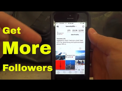 How To Get More Followers On Instagram-REAL METHOD-It Works