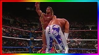 "Ultimate Warrior vs. ""Macho King"" Randy Savage: WrestleMania VII - Retirement Match"