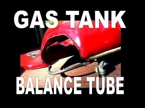 Old Honda Gas Tank Balance Tube Solution
