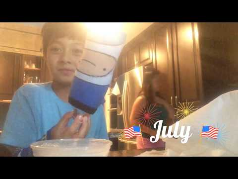 How to make bubbles with a sock and a water bottle