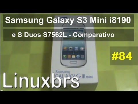 Samsung S3 Mini Android 4.1.1 Jelly Bean e Samsung S DUOS Android 4.0.4 ICS - PT-BR Brasil