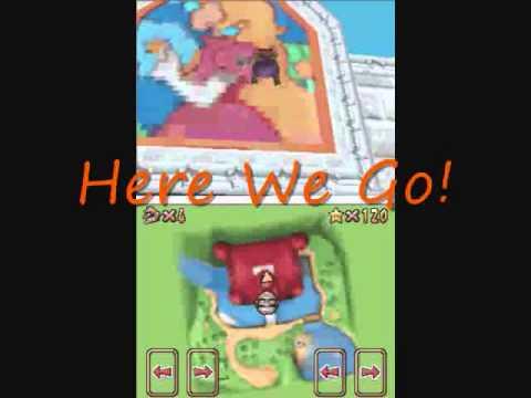 Super Mario 64 DS Bloopers - Unlocking Waluigi