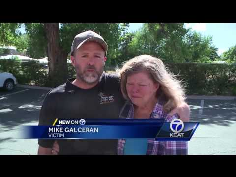 Woman says her late husband's ashes were in stolen moving truck