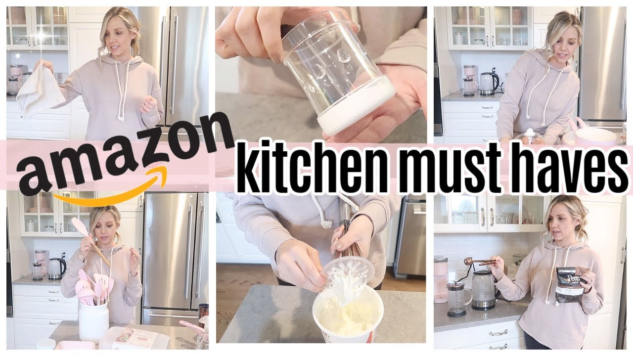 *NEW* 2021 AFFORDABLE AMAZON KITCHEN MUST HAVES // TIFFANI BEASTON KITCHEN GADGETS YOU NEED 2021